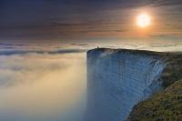 Небесный причал. Бичи-Хед, мыс на южном побережье Великобритании.