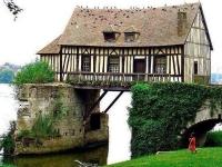 Старая мельница, Вернон, Франция