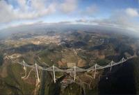 Самый большой в мире мост Виадук Мийо, Франция