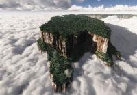 Тепуи. Гвианское нагорье. Венесуэла