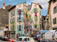 Cтрит-арт от Патрика Коммеси. Франция
