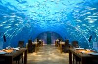 Подводный ресторан «Итхаа», Мальдивские оcтрова.