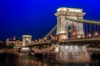 Chain Bridge. Budapest