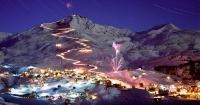 Горнолыжный курорт Ароза в Швейцарских Альпах