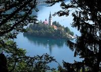 Бледское озеро. Юлийские Альпы. Словения