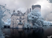 Chateau de la Mothe-Chandeniers, France