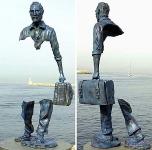 Франция, Сен–Поль–де–Ванс: Памятник Ван Гогу