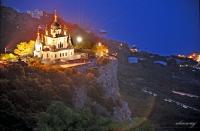 Крым. Форос,  Церковь Воскресения Христова