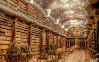 Клементинум - библиотека в Праге. Чехия