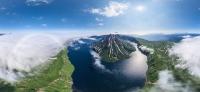 Вулкан Креницына, Курильские острова, Россия