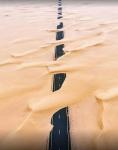 Дорога в пустыне, ОАЭ