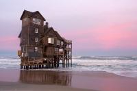 Дом у океана, Роданте, Штат Северная Каролина, США