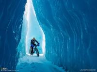 Прогулка на велосипеде. Аляска, США