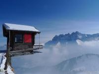 Домик на высоте 2000 метров. Швейцария