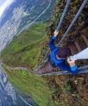 Лестница Хайку (Haiku Stairs), остров Оаху, Гавайи