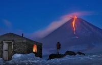 Вулкан на Камчатке, Россия