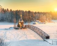 Храм Андрея Первозванного на Вуоксе, Россия