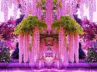 Висячий сад Кавати Фудзи, Япония