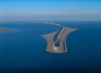Мост и туннель, соединяющие Данию и Швецию