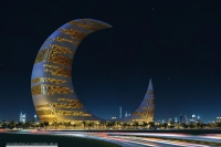 The Crescent Moon Tower, Dubai