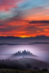 Tuscany sunset, Italy