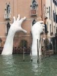 Sculpture by Lorenzo Quinn titled