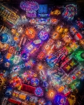 Drone Photography. The fair is in town