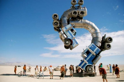Big Rig Jig by Mike Ross - Burning Man, Nevada, USA