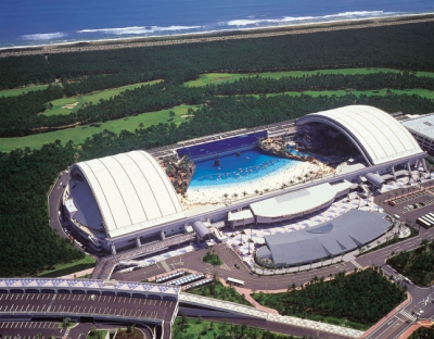 Seagaia Ocean Dome, Japan