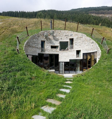 Hole House, Switzerland