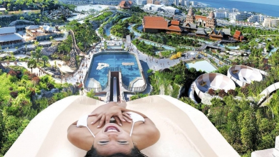 Siam Waterpark in Tenerife, Canary Islands, Spain