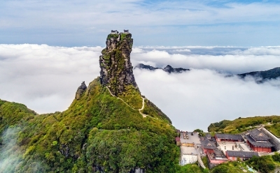 The Temples of Mount Fanjing, Guizhou Province, China